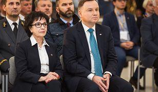 Koronawirus z Chin. Elżbieta Witek reaguje na wniosek prezydenta Andrzeja Dudy