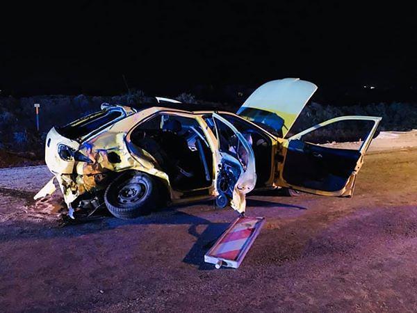 Wypadek w Bilczy. Dwie osoby nie żyją po czołowym zderzeniu