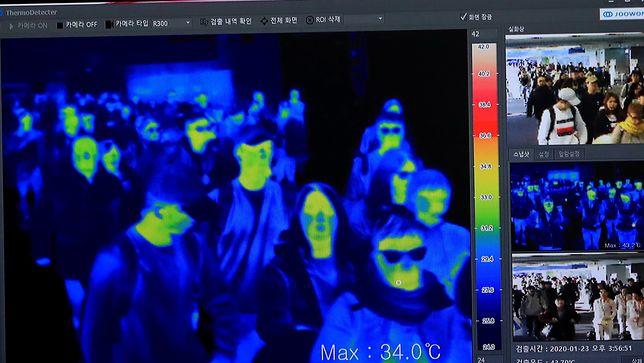 Chora Chinka oszukała kamery termowizyjne na lotnisku w Paryżu. Przyleciała z Wuhan