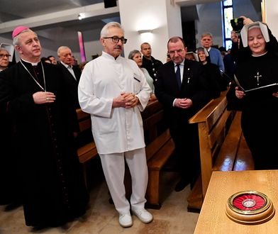 """Szpital w Kielcach dostał relikwie św. Faustyny. """"Pomocą jest obecność w kaplicy i modlitwa"""""""