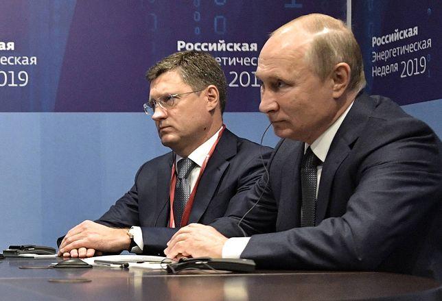 Rosyjski minister energii Aleksander Nowak zarażony koronawirusem