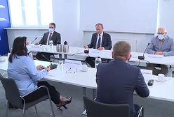 Nieoczekiwane spotkanie. Tusk rozmawiał z doradcami premiera
