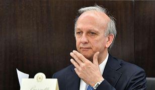 Włoski minister oświaty Marco Bussetti