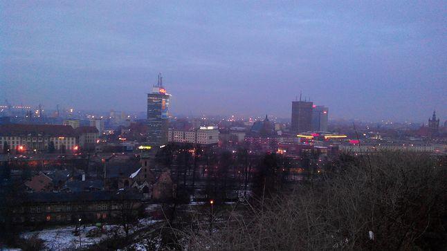 Widok na Gdańsk Wrzeszcz z Góry Gradowej.