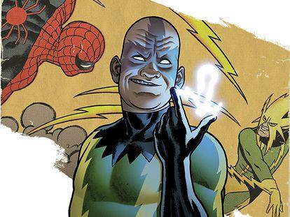 Cyk i jest! / Max Electro Dillon (C) Marvel / http://marvel.com/characters/bio/1009287/electro