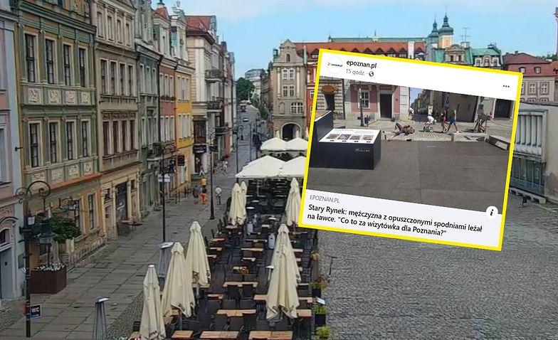 """""""Wizytówka Poznania"""". Gorszący widok na Starym Rynku"""