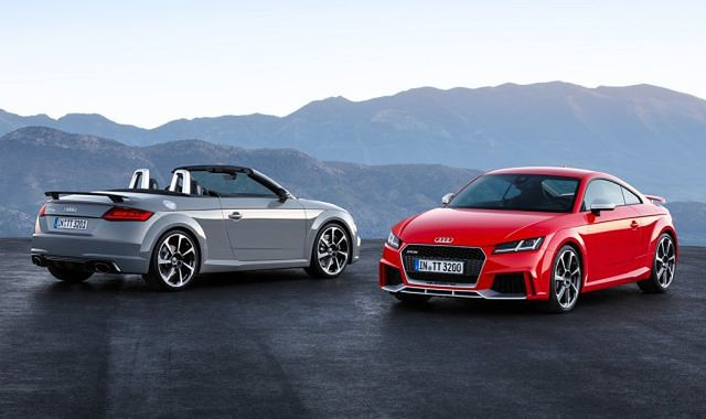 Audi TT RS Coupe i Roadster na nowo