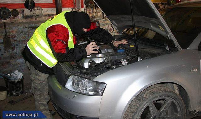 Polsko-armeńska grupa złodziei samochodów rozbita