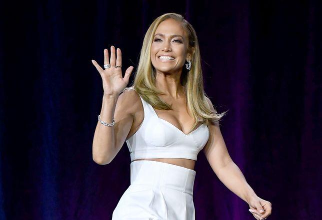 Jennifer Lopez nigdy nie je jagód i łososia