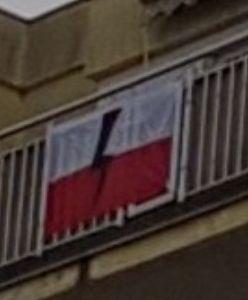 Warszawa. Policja zarekwirowała flagę. Sąd nakazał zwrot