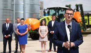 """Polski Ład. Premier o """"wzmocnieniu siły polskich rolników wobec zagranicznych"""""""