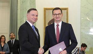 """Prezydent Andrzej Duda zmian nie chce, premier Mateusz Morawiecki jest na """"tak"""". Projekt zniesienia limitu 30-krotności zgłosiła za to grupa posłów PiS"""