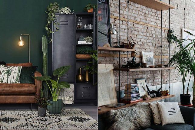 Styl industrialny w małym mieszkaniu jest lekki i minimalistyczny