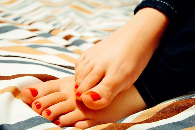 Paznokcie u nóg - wzory