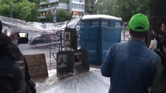 Protest w Sejmie trwa od 18 kwietnia