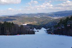 Krynica-Zdrój otworzyła stok narciarski. Na miejscu pojawiły się tłumy