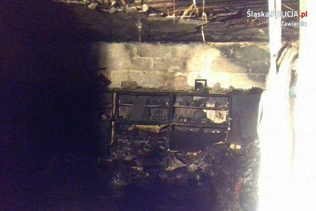 W płomieniach zginęły dwie starsze osoby.