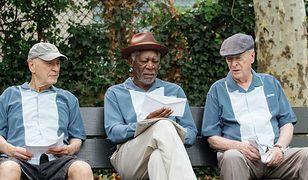 """Alan Arkin,Morgan Freeman i Michael Caine w filmie """"W starym, dobrym stylu"""""""