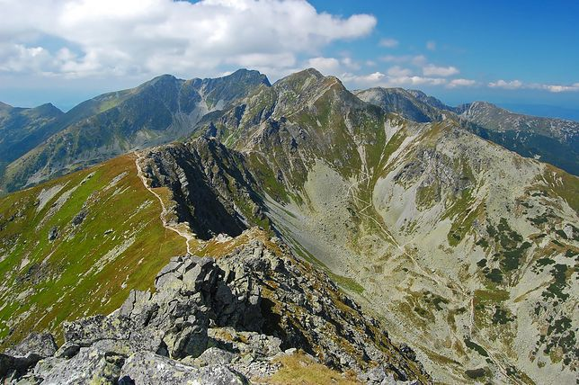 W Tatrach Zachodnich można cieszyć się z kontaktu z przyrodą