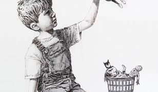 """Banksy i jego grafika """"Game Changer"""""""