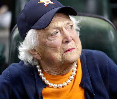 Barbara Bush zmarła w kwietniu 2018 r.