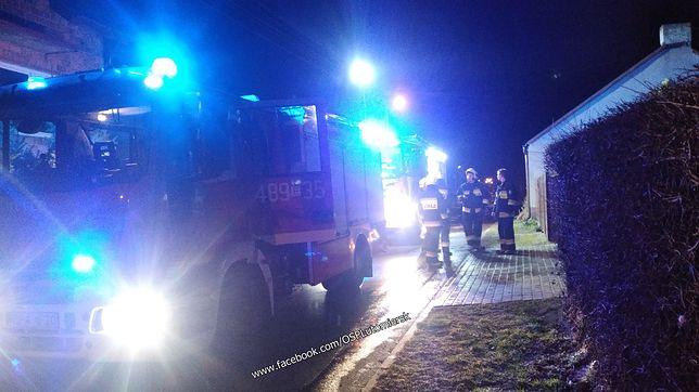 Wszyscy poszkodowani w wyniku pożaru uszli z życiem