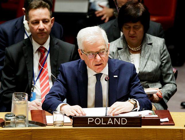 Szef polskiej dyplomacji leci na Ukrainę