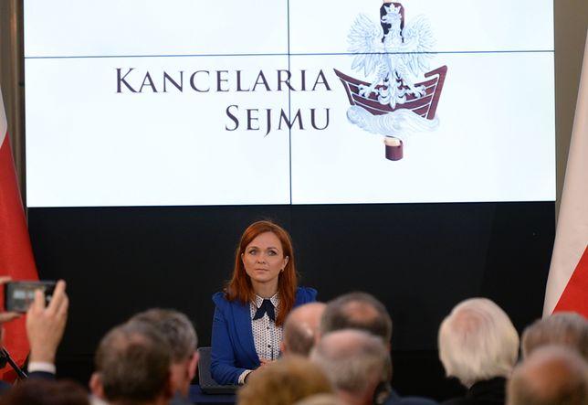 Od stycznia 2017 r. Agnieszka Kaczmarska jest szefową Kancelarii Sejmu