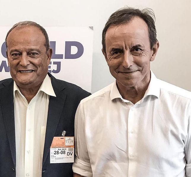 Riad Haidar wspiera Tomasza Grodzkiego