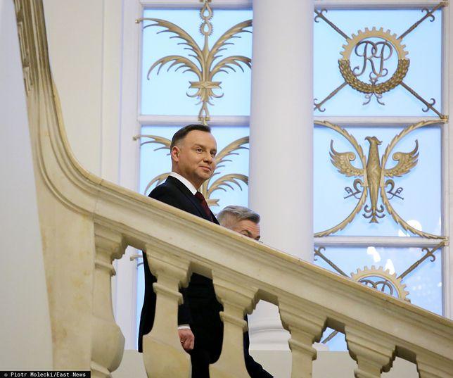 Prezydent Andrzej Duda zaprosił przedstawicieli opozycji na spotkanie