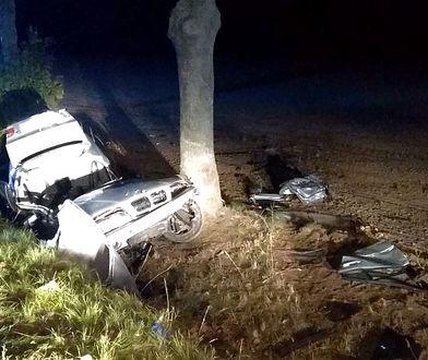 Biała pod Prudnikiem. Nie żyje 26-letni kierowca BMW