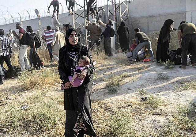 4 miliony uchodźców, najbardziej cierpią dzieci - zdjęcia