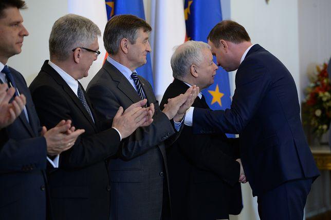 """Spotkanie według rzeczniczki PiS przebiegło w """"dobrej atmosferze"""""""