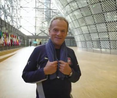 Bruksela. Donald Tusk publikuje pożegnalne wideo