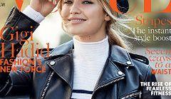 Gigi Hadid po raz pierwszy w angielskim Vogue'u