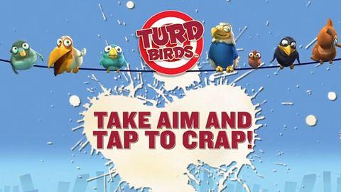 Jeśli przetłumaczycie sobie tytuł Turd Birds, to już wiecie, o czym jest ta gra