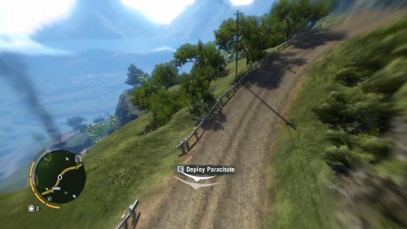 Piękny świat Far Cry 3 widziany z lotu ptaka