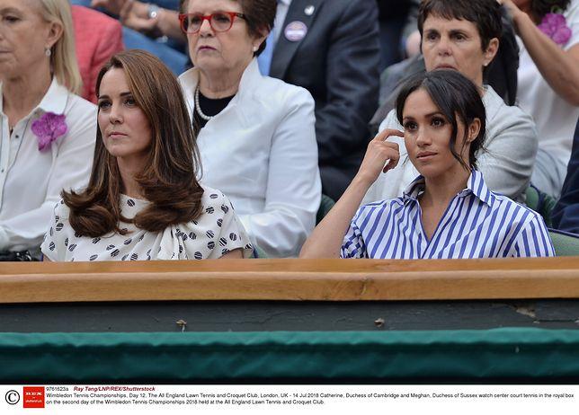 Meghan miała doprowadzić Kate do łez. Pałac zabrał głos