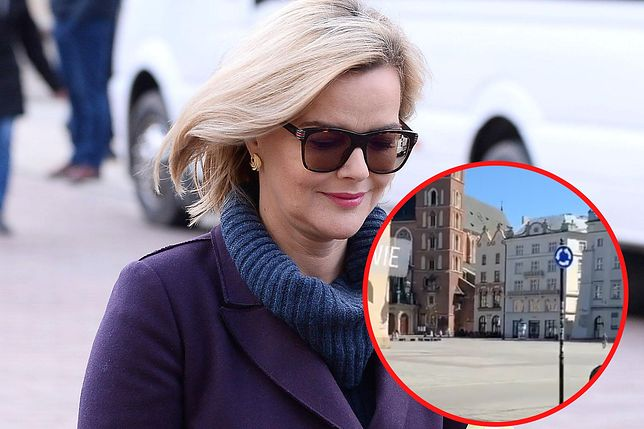 Monika Zamachowska szukała apteki w Krakowie. Widok miasta ją zadziwił