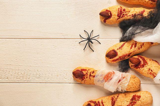 Ciastka halloweenowe - szpony wiedźmy