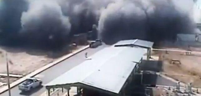 Szokujące nagranie z wybuchu w rafinerii