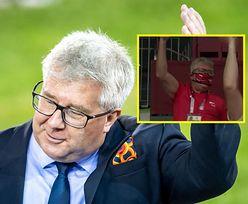 Polityk PiS szalał podczas meczu siatkarzy! Marek Belka zadrwił