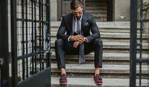 Męskie mokasyny to klasyczna propozycja eleganckich butów.
