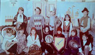 Zdjęcie Tomasza Mackiewicza z zajęć kółka teatralnego