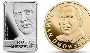 Roman Dmowski na monetach kolekcjonerskich NBP. W złotej i srebrnej wersji