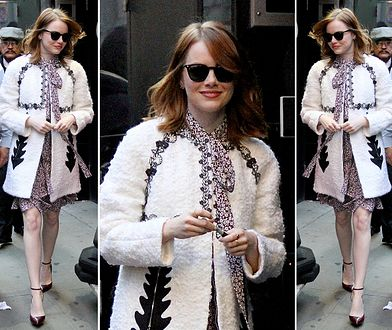 LOOK OF THE DAY: Emma Stone na Manhattanie