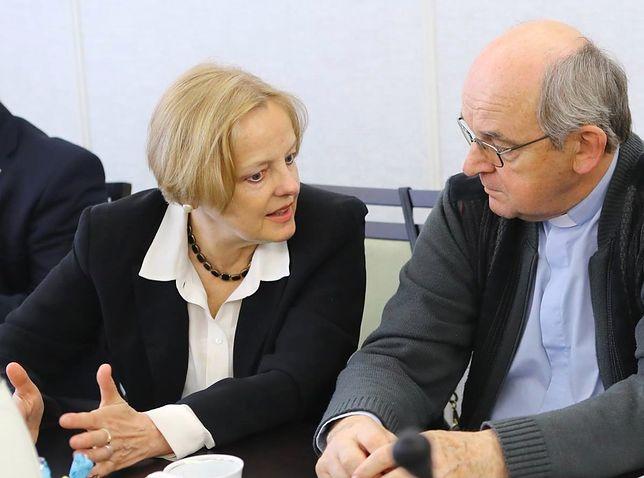 Maria Szonert-Binienda w Senacie