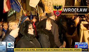 Wielka wpadka w TVN24. Przy relacji z Wrocławia pojawił się nazistowski herb