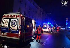 Wybuch gazu i pożar w kamienicy na Pradze. Są ranni