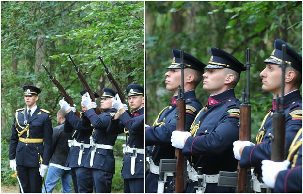 Zabity na służbie pies policyjny został pochowany z honorami